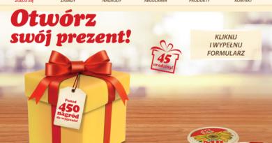 Otwórz swój prezent w loterii Tesco