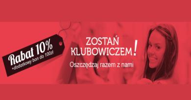 Promocja Bonprix Rabat 10% plus dodatkowy bon do 100 zł