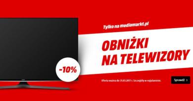 Obniżki na telewizory w Media Markt