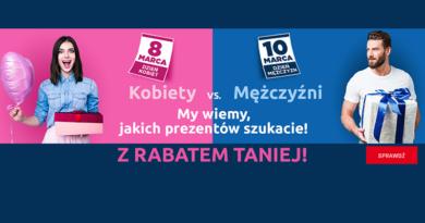 Promocja Neonet Kobiety vs. Mężczyźni