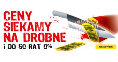 W RTV euro AGD ceny siekamy na drobne i do 50 RAT 0%