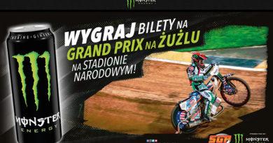 Konkurs Monster: Wygraj bilety na Grand Prix na żużlu na Stadionie Narodowym
