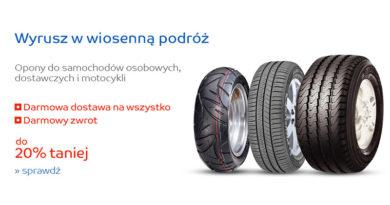 Opony samochodowe taniej w sklepie internetowym eMag.pl