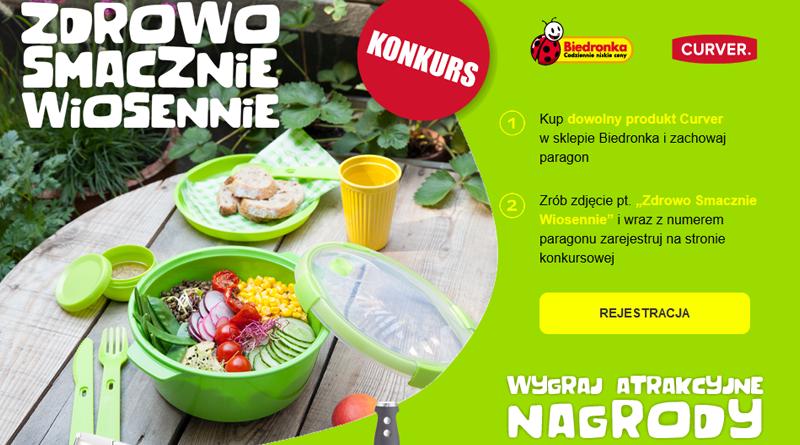 Konkurs Biedronka: Zdrowo, smacznie, wiosennie