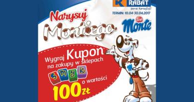 Konkurs Rabat Narysuj MONTIEGO