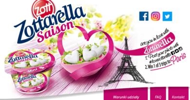 Konkurs Zottarella Wygraj wycieczkę do Paryża