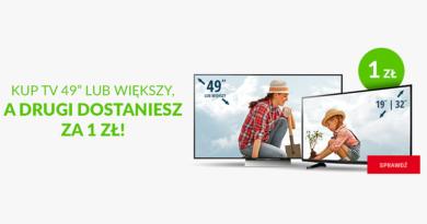 """Kup TV 49"""" lub większy, a drugi dostaniesz za 1 zł w salonie Neonet"""