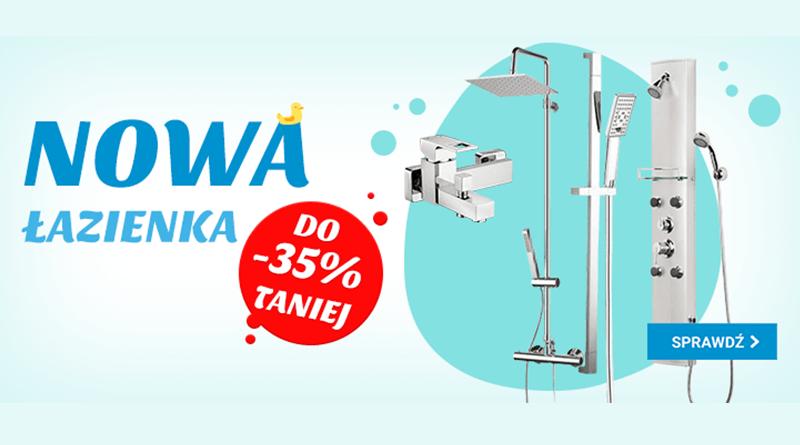 Nowa łazienka do 35% taniej w OleOle