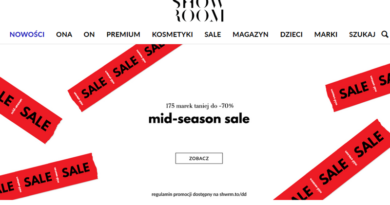 MID-SEASON SALE do - 70% w Showroom