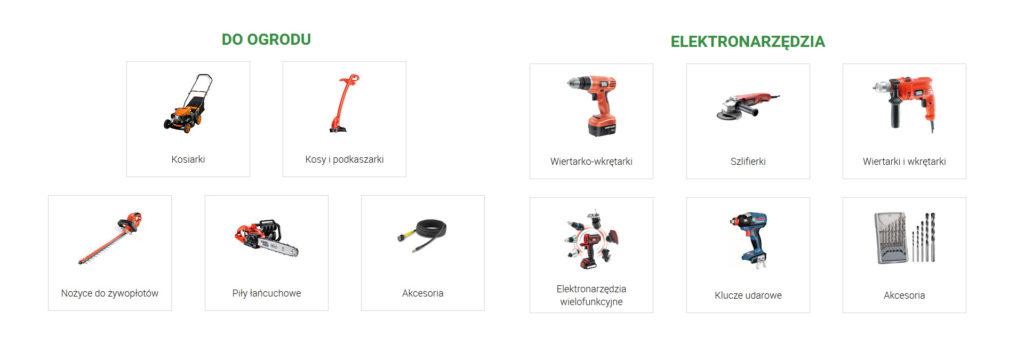 rabaty na narzędzia w wybranych kategoriach