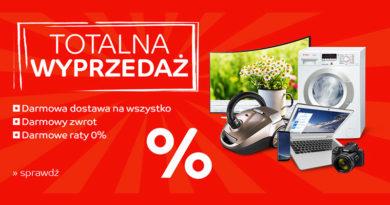 Totalna wyprzedaż na małe AGD w sklepie eMAG.pl