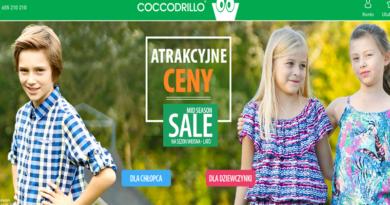 Lato w obniżonych cenach w sklepie Coccodrillo