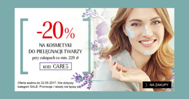 Rabat -20% na kosmetyki do twarzy w Douglas