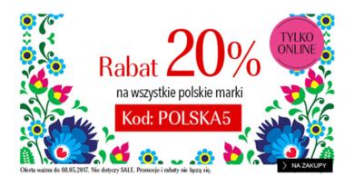Rabat 20% na wszystkie polskie marki w Douglas