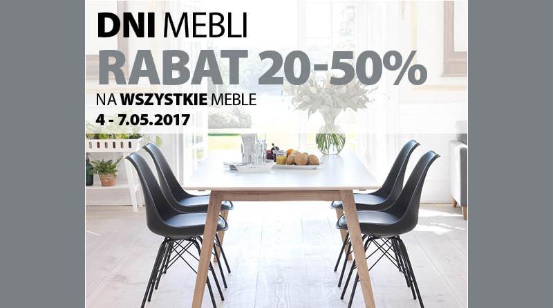 Rabat 20-50% na wszystkie meble w sklepie Jysk