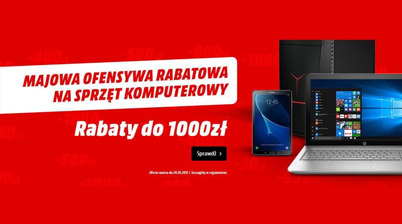 Rabaty do 1000 zł na sprzęt komputerowy w Media Markt