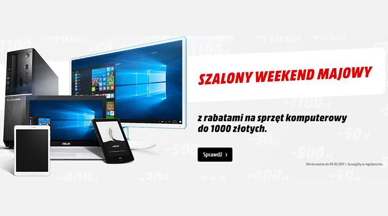 Rabaty na sprzęt komputerowy do 1000 zł taniej w Media Markt
