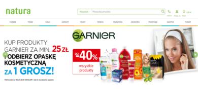 Rabaty do -40% i opaska kosmetyczna za 1 gr w Drogerii Natura
