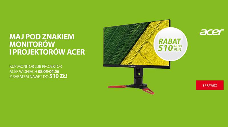 Kup monitor lub projektor Acer z rabatem do 510 zł w Neonet