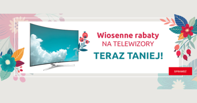 Wiosenne rabaty na telewizory w Neonet