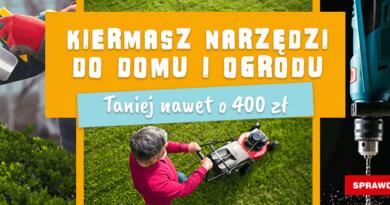 Narzędzia do domu i ogrodu taniej nawet o 400 zł w OleOle!