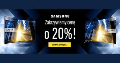 Telewizory Samsung tańsze o 20% w RTV euro AGD