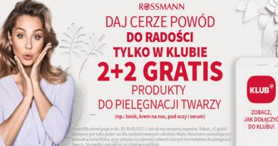 Daj cerze powód do radości w drogerii Rossmann
