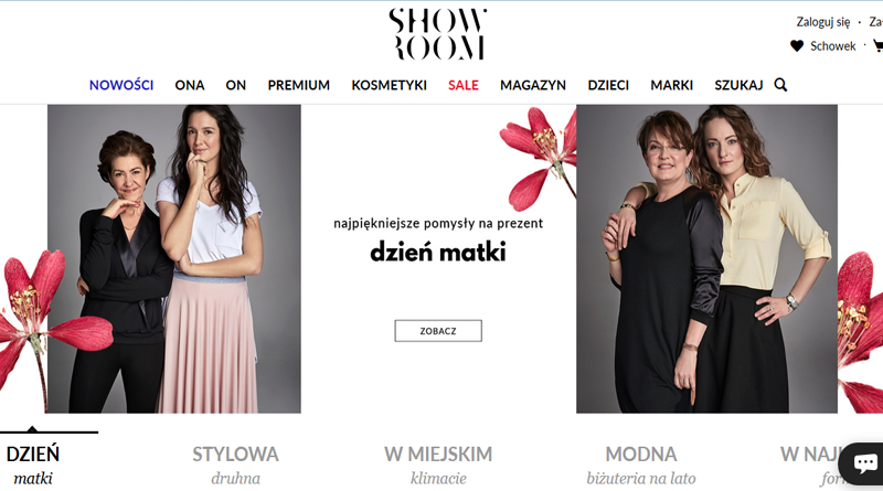 Dzień Matki w Showroom