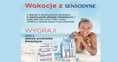 Konkurs Sensodyne Wygraj voucher o wartości 1399 zł