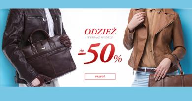 Odzież w Wittchen tańsza do -50%
