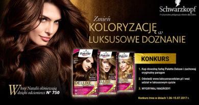 Konkurs Schwarzkopf Luksus na codzień