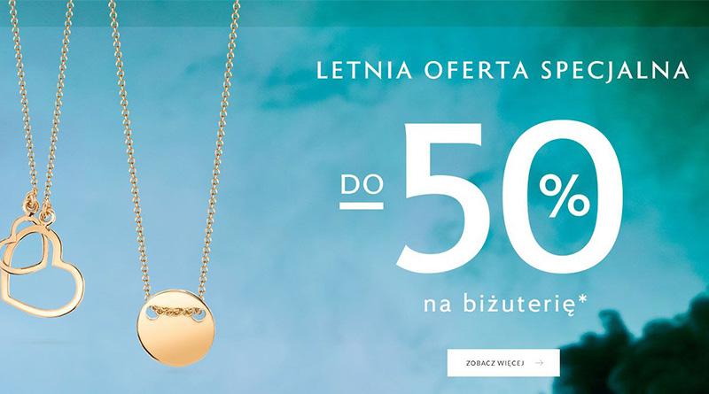 Letnia oferta specjalna W.Kruk na biżuterię do -50%