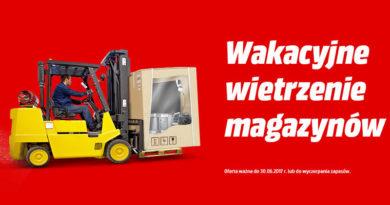 Wakacyjne wietrzenie magazynów Media Markt