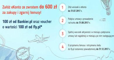 Załóż eKonto w mBanku i zgarnij nawet 800 złotych premii!