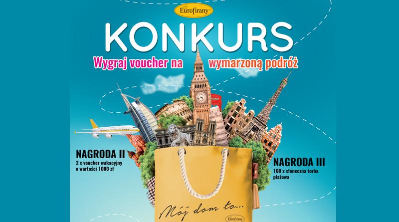 Konkurs Eurofirany Wygraj wakacyjny voucher!