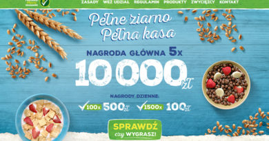 Loteria Nestle Pełne ziarno pełna kasa