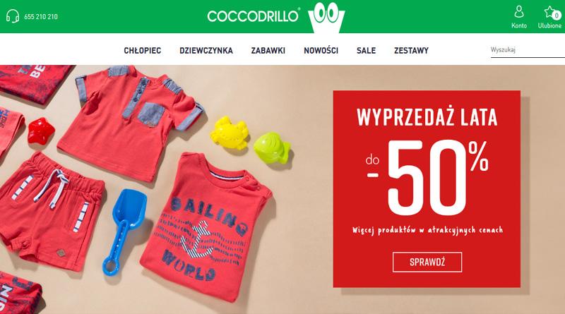 W sklepie Coccodrillo rabaty sięgają do -50%