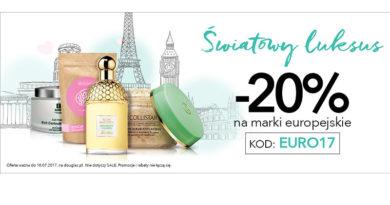 Rabat -20% na marki europejskie w Douglas