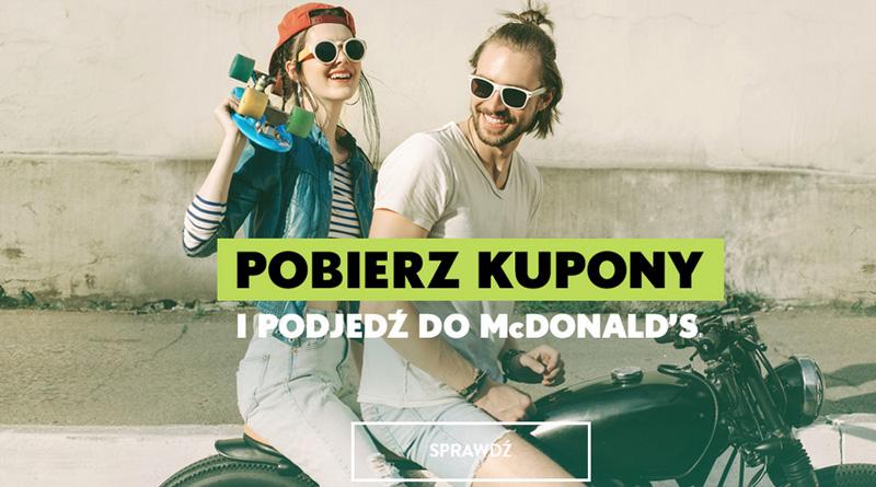 Pobierz najnowsze kupony do McDonald's