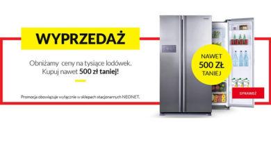 Kup lodówkę nawet 500 zł taniej w Neonet