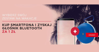 Kup smartfona i zyskaj głośnik za 1 zł w Neonet