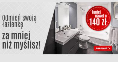 Łazienka w OleOle! taniej nawet o 140 zł