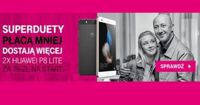 Dwa Huawei P8 Lite za 79 zł na start w T-Mobile