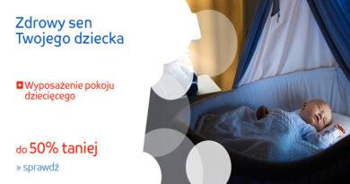 Wyposażenie pokoju dziecięcego do -50% na eMag.pl