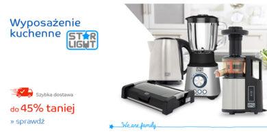 Wyposażenie kuchenne do -45% taniej na eMag.pl