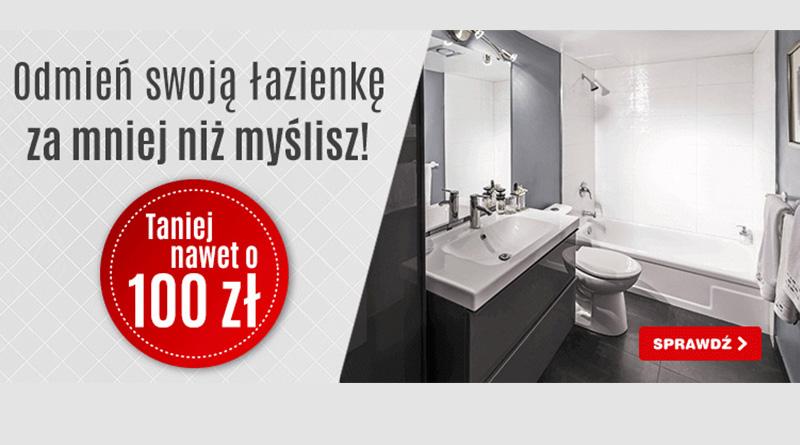 Łazienka taniej nawet o 100 zł w OleOle!