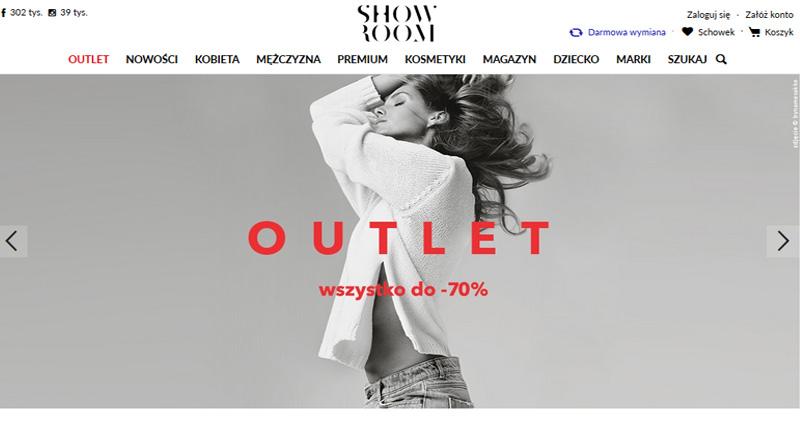 Rabaty do -70% w Showroom