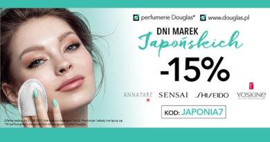 Dni marek Japońskich -15% w Douglas
