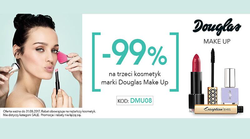 Rabat -99% na 3 kosmetyk w perfumerii Douglas