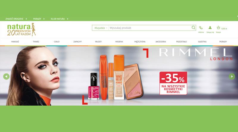 Rabat -35% na kosmetyki RIMMEL w Drogerii Natura